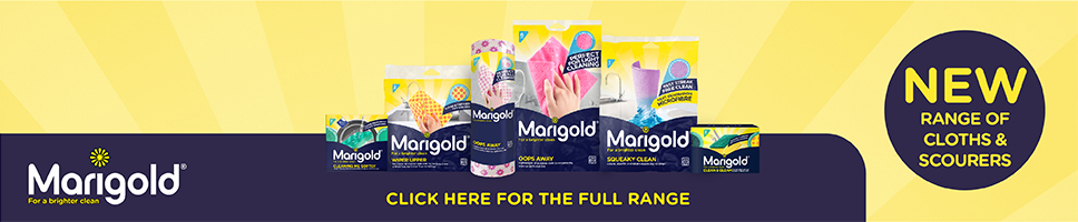 New range of Cloths and Scourers from Marigold