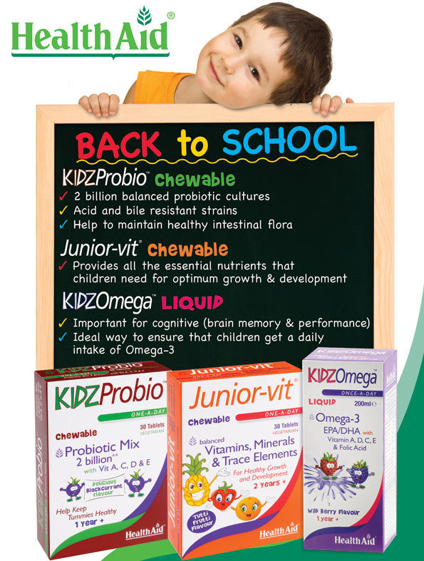 Back to School with Health Aid