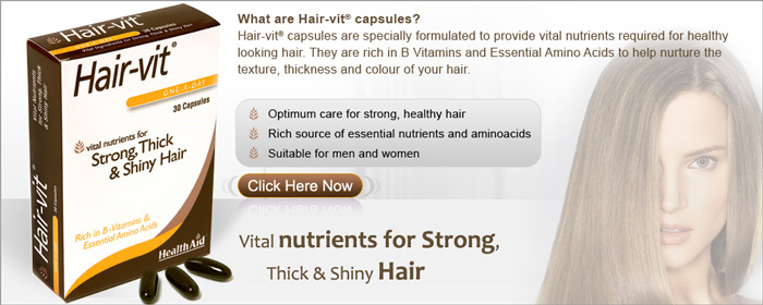 Hair-Vit from Health Aid